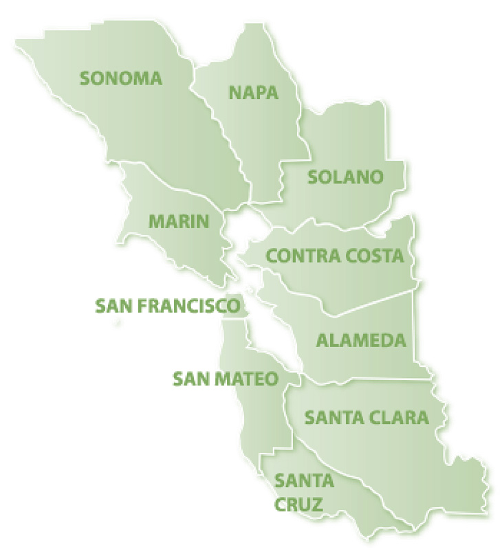 For Rent San Francisco Bay Area: We Have Two Bay Areas